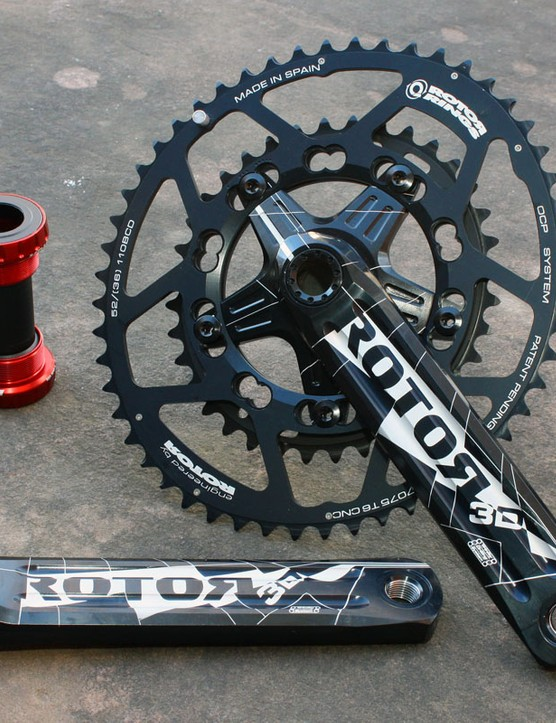 Rotor will find their cranks and chainrings on a number of top road teams in 2011