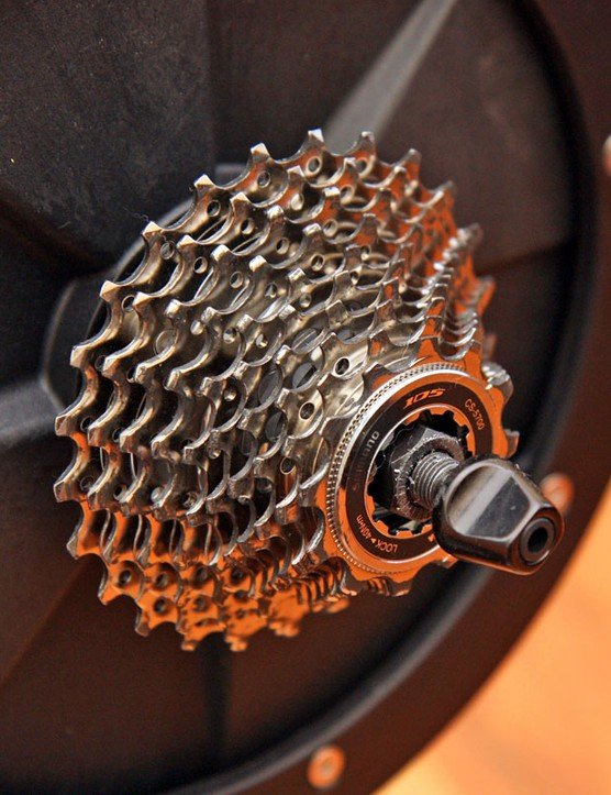 Lemond Fitness will include a 10-speed Shimano 105 cassette pre-installed for an extra US$50