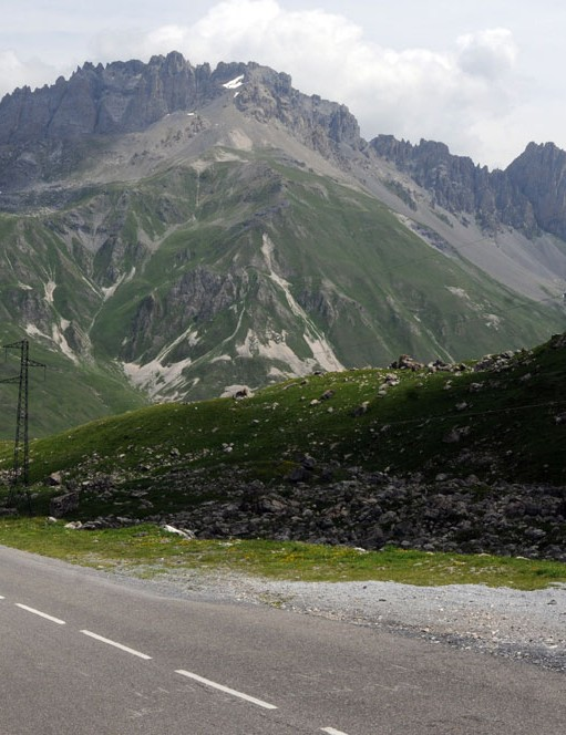 The route includes 14 epic climbs in the French Alps