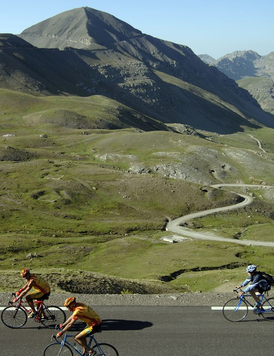 Over 17,000 metres of climing await riders at The Haute Route