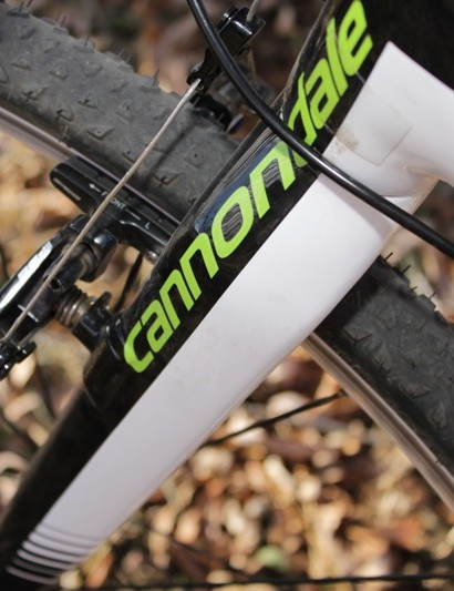 Along with excellent performance the SuperX fork is well integrated to the overall aesthetic of the bike