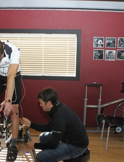 Retul's fit protocol takes both sides of a rider into account