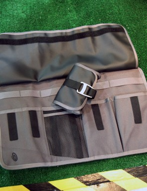 Timbuk2's tool wrap can be stuffed into a messenger bag or just kept in the back of your car