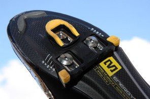 The included cleats are reasonably long lasting and exceptionally easy to walk in.  When replacement time comes, they're quite inexpensive, too