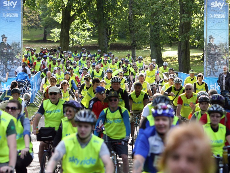 Initiatives like the Cycle to Work scheme and the nationwide Skyride events have helped boost cycling in the UK