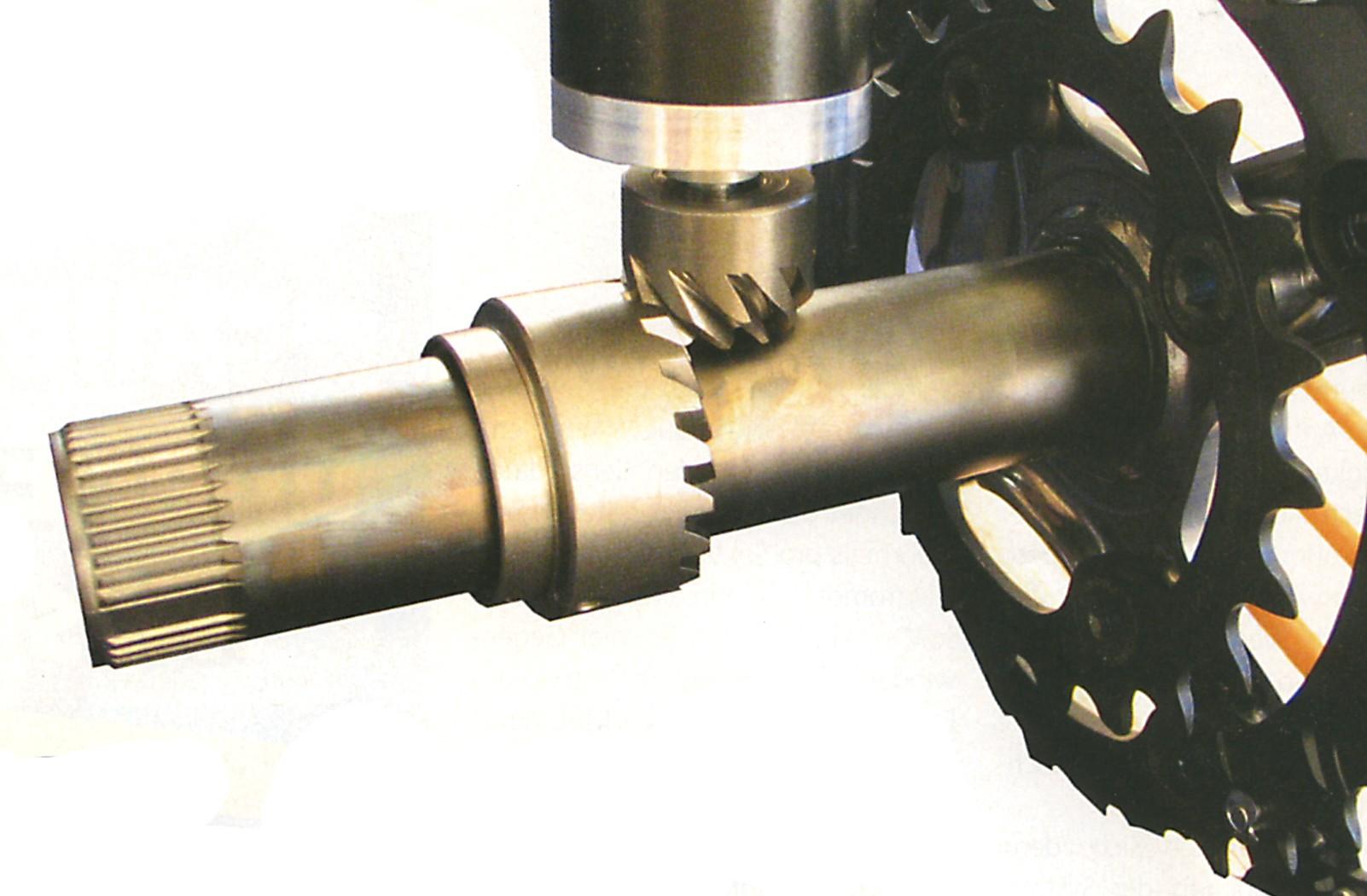 Bevel gear closeupr
