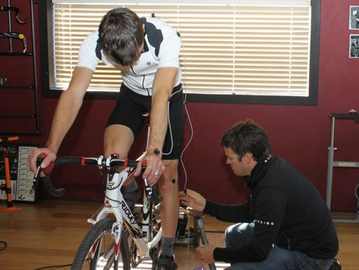 Retul's Fit System provides an extremely accurate way to measure a rider and his or her bike