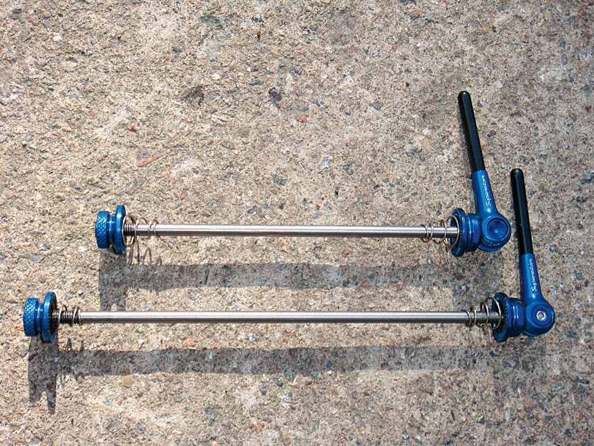 Superstar Components superfly carbon Ti ultralight qr skewers