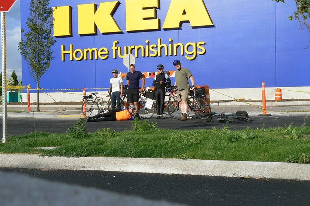 Bikes are an integral component of Ikea's global sustainability effort