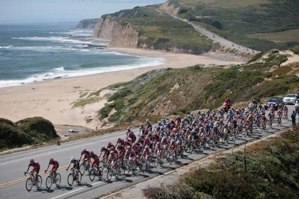 The Tour of California takes in some stunning scenery