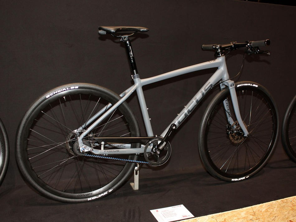 Focus will make a bigger push in the US urban market with one the highlights being the Planet 8, which for US$1,000 will include a Shimano Alfine 8 internally geared hub and a Gates carbon belt drive.