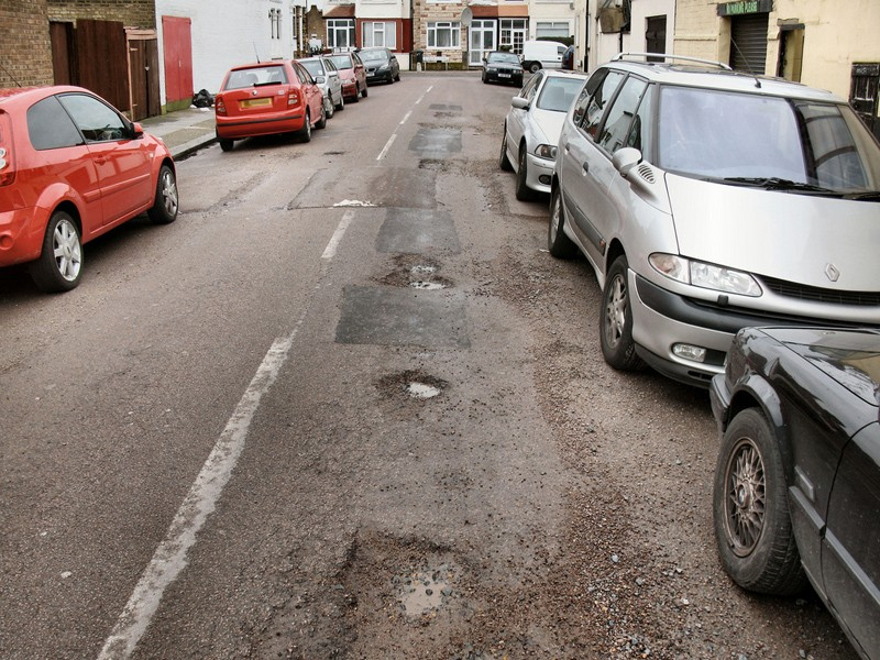 Potholes are a common cause of cycling crashes, but what are your legal rights if you hit one?