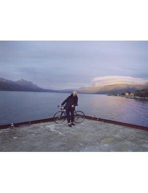 Round-the-world cyclist James Bowthorpe