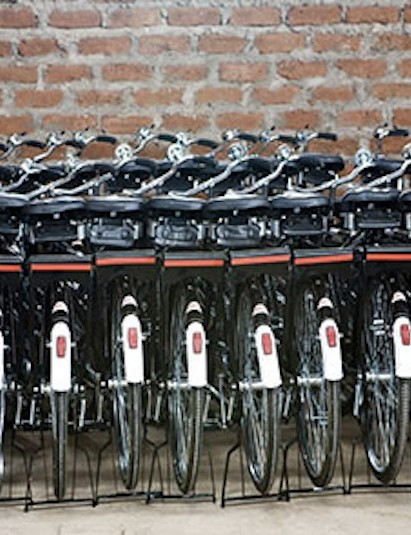 Bikes ready for donation