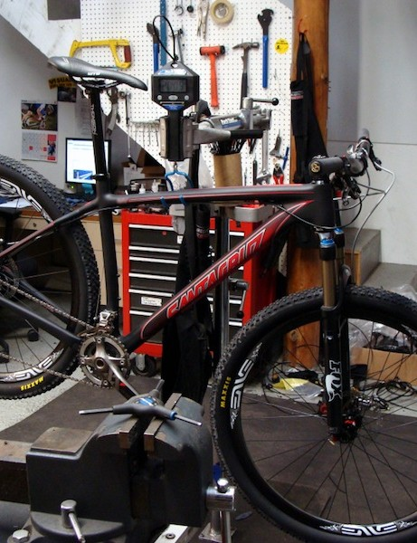 Santa Cruz's new 29er hardtail, which may or may not be called the 'new knife'