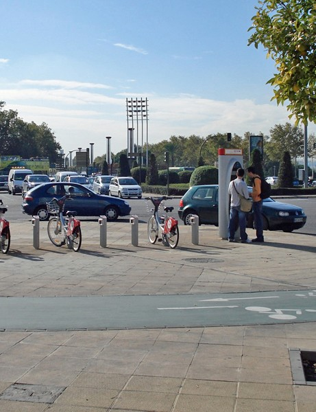 The construction of 120km of cycle track has also encouraged Seville's residents to get on their bikes