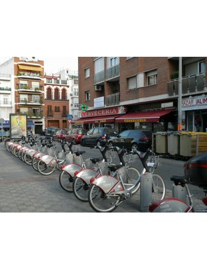 Seville is now the most bicycle-friendly city in Spain thanks to projects like the Sevivi public bike hire scheme