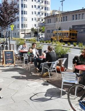A San Francisco parklet