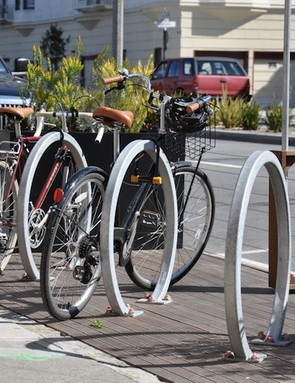 Car parking replaced with bike parking has been shown to better local business revenue