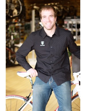 Coates returned to the shop where he cut his teeth as a mechanic for this photo shoot, which is subsequently now a Trek concept stor