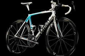 Team Leopard-Trek will pursue Tour de France glory aboard Trek's Madone 6.9 SSL road bike (pictured) and Speed Concept time trial machine