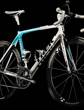 Team Leopard-Trek will pursue Tour de France glory aboard Trek's Madone 6.9 SSL road bike (pictured) and Speed Concept time trial machine