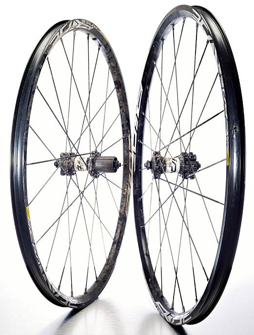 Mavic Crossride Disc wheelset