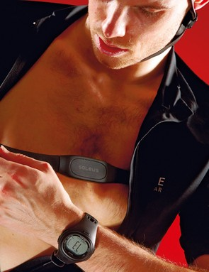 Most cycling computers work with heart-rate straps, as do many running watches