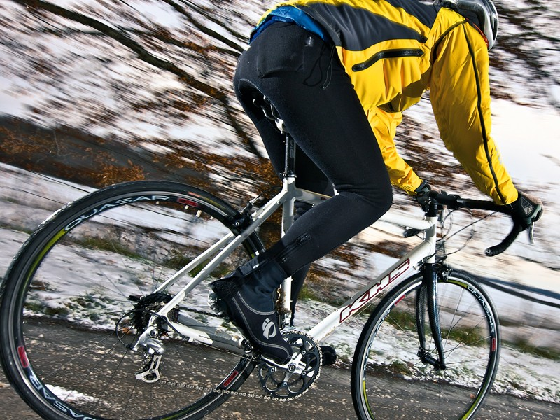 Neither twitchy nor ponderous, the KHS's neutral handling is perfect for less experienced riders and spot-on for training duties
