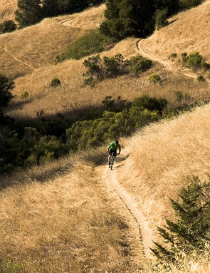 The glorious sun-drenched buff trails of California are Rob's playground