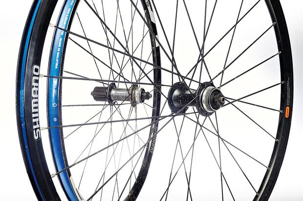 1d3a6670d73 Shimano MT15 mountain bike wheelset - BikeRadar