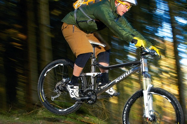 The Tanuki is well suited to tackling technical terrain