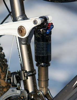 The inconsistent damping and stiction of the rear shock and fork really limit the ride