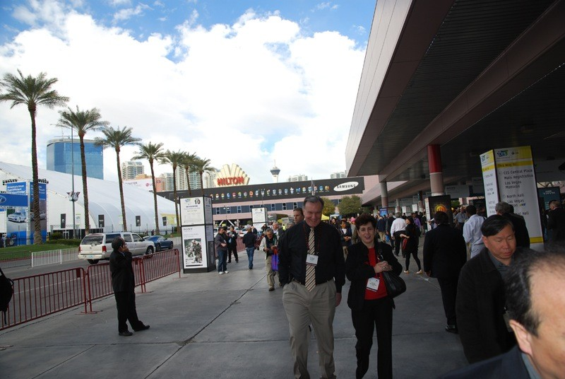 The Consumer Electronics Show takes over Las Vegas in January