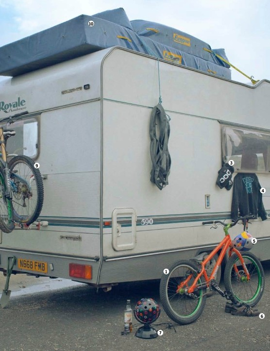 This campervan became a second home to Danny, Dave and Mark over the summer