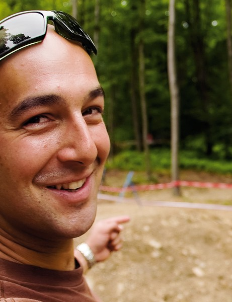 Phil Saxena is the man behind Bristol's new mountain bike trails
