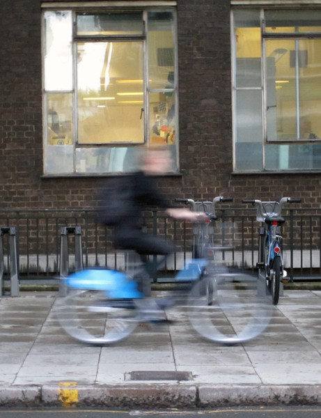 Take-up of the Barclay's Cycle Hire scheme is slower than expected