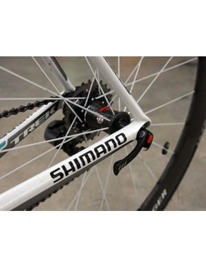 Bontrager skewers are fitted at both ends