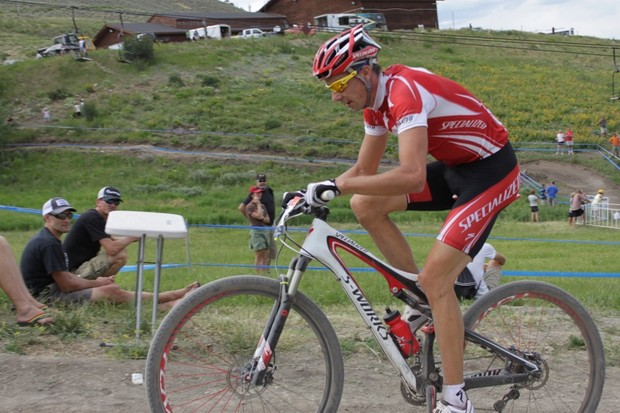 Wells won US national cross-country, short track and cyclo-cross titles in 2010