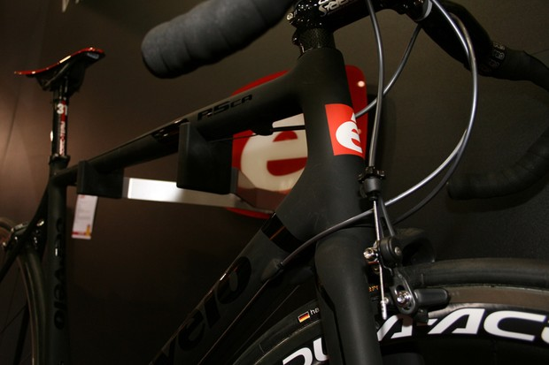 Cervelo's R5ca was one of the highlights of the opening day of The London Bike Show
