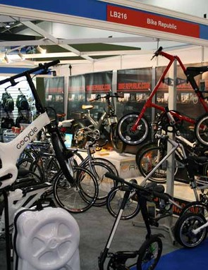 It's not just road and mountain bikes at the show - there are plenty of more esoteric choices too