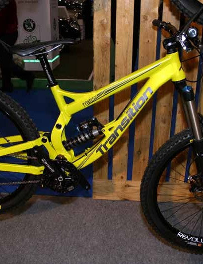 We showed you Transition's TR250 at Cycle 2010 but it looks so nice we thought we'd show it again