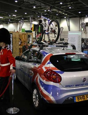 Patriotism a go-go on the British Cycling stage