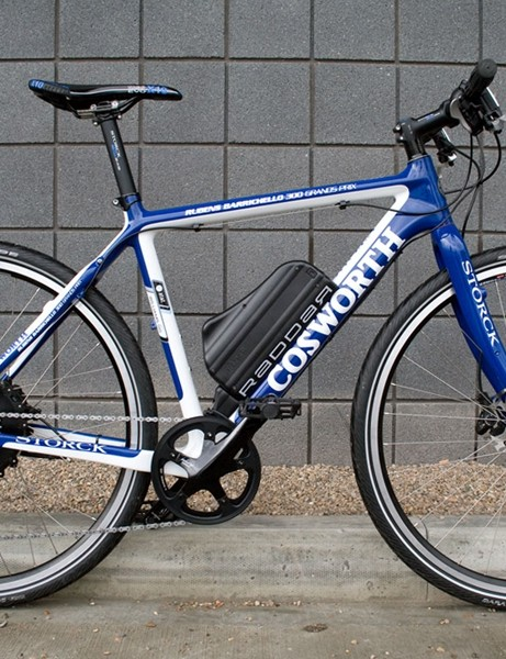 Storck will release a Cosworth EFV bike in May which will look similar to this but will be finished with high-end components