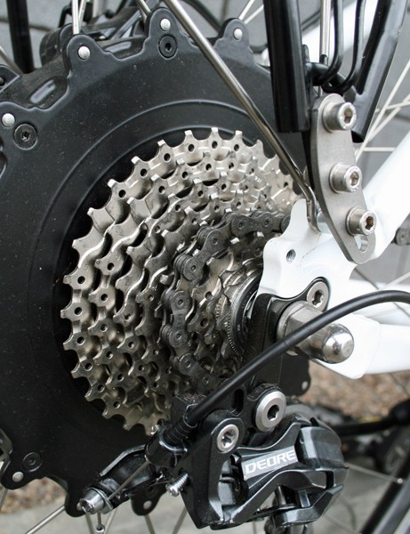 All of Storck's e-bikes use the same Swiss-manufactured hub motor
