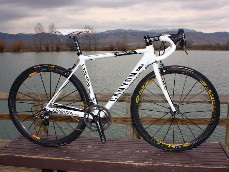 Canyon's CF SLX Team bike