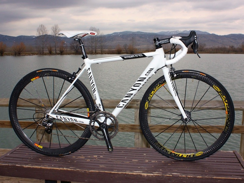 Canyon's CF SLX Team bike