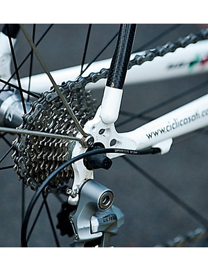 As expected, the Ultegra setup didn't miss a beat