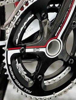 FSA BB30 chainset keeps the drivetrain perfectly efficient