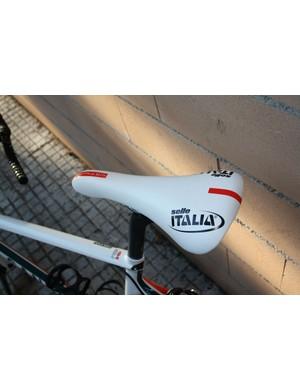 Philippe Gilbert (Omega-Pharma Lotto) uses Selle Italia's Flite TT Team Edition saddle.
